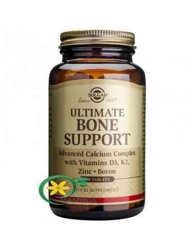 Ultimate Bone Support 120 tb Solgar, Ultimate Bone Support 120 tb Solgar  Complex avansat de calciu cu vitaminele D3, K2, zinc ș