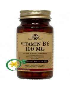 Vitamina B6 100 cps Solgar