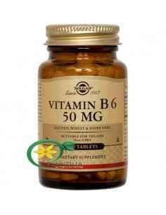 Vitamina B6 100 tb Solgar