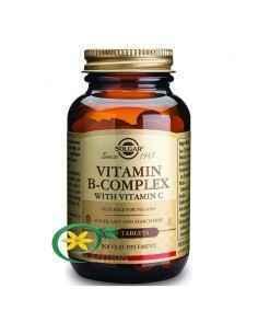B-Complex Cu Vitamina C 100 tb Solgar