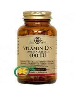 Vitamina D3 400UI 100 cps Solgar