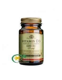 Vitamina D3 600UI 60 cps Solgar
