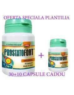 PROSTATOFORT 30 +10 capsule cadou Cosmo Pharm