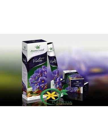 Bete parfumate Violete Aroma Land  Un adaos încântător la atmosfera mediului ambiant, parfumul bețișoarelor parfumate Vio