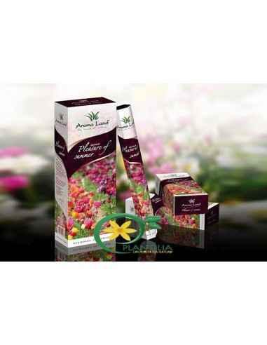 Bete parfumatePleasure of Summer Aroma Land  Bețișoarele parfumate Pleasure of Summer sunt alegerea ideală pentru o vară