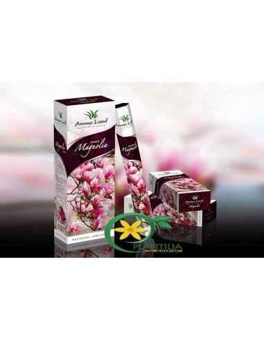 Bete parfumateMagnolia Aroma Land  Dulce, exotică și plină de note florale înalte, aroma ce învăluie bețișoarele parfuma