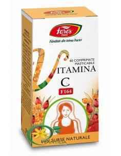 Vitamina C Naturala F164 60 cpr Fares