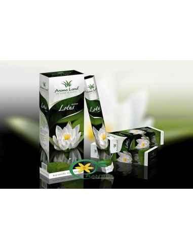 Bete parfumate Lotus,        Bete parfumate Lotus Aroma Land  Emanând o aromă florală diafană, bețișoarele parfumate Lotus creea