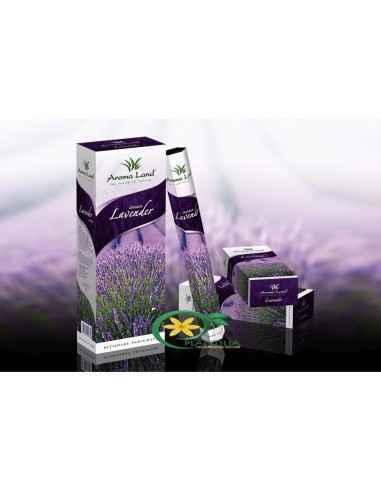 Bete parfumate Lavanda Aroma Land  Răsfățați-vă simțurile și bucurați-vă de relaxare totală cu bețișoarele parfumate Lave