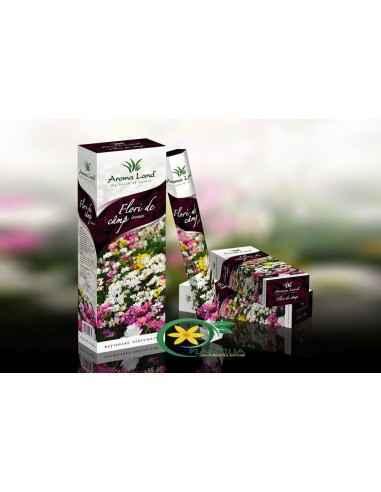 Bete parfumateFlori de Camp Aroma Land  Cu aroma lor proaspătă și armonioasă, bețișoarele parfumate Flori de câmp vă inv