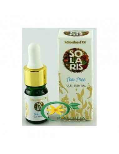 UleiEsential Tea Tree 5 ml Selection D'or Premium Solaris Ulei esential obtinut prin distilare cu vapori de apa a frunzelor