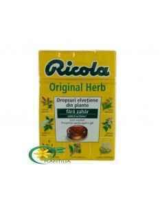 Dropsuri din Plante fara Zahar 40 g Ricola