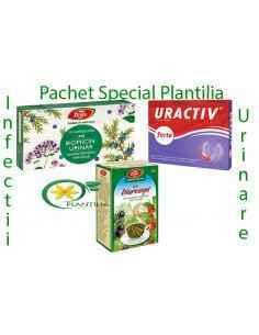 Pachet Infectii Urinare,Pachet Infectii UrinarePachetul contine 1 cutie Biomicin Urinar fares, 1 cutie Uractiv Forte Fiter