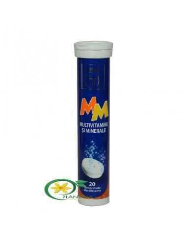Multivitamine si Multiminerale 20 cpr efervescente Zdrovit  Un preparat complex ce contine vitamine si minerale atent selectiona