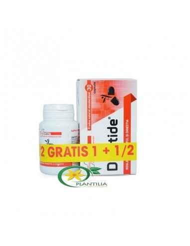 Digotide 30 capsule 1 + 1/2 Gratis Farmaclass Digotide conține prebiotice (fibre dietetice) și substanțe cu efect prebiotic (nuc