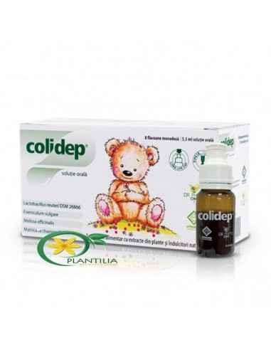 Colidep Dr Phyto,  Colidep Dr Phyto 8 flacoane x5.5ml  Colidep soluție orală este un complex unic cu Lactobacillus reuteri și fi