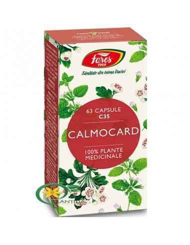 Calmocard C35 63 cps Fares Susţine irigarea şi astfel aportul sangvin de oxigen şi substanţe nutritive necesare bunei funcţionăr