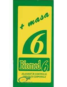Biomed 6 100 ml Biomed, Biomed 6 Solutie pentru Ingrasat 100 ml Biomed Creste pofta de mancare si asigura o mai buna asimilare a
