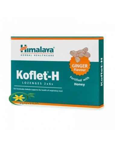 Koflet cu Ghimbir 12cpr Himalaya Koflet-H cu Ghimbir 12 cpr Himalaya este un suplimentar alimentar pentru combaterea durerilor i