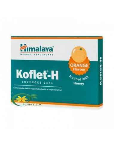 Koflet cu Portocale 12cpr Himalaya, Koflet cu Portocale 12cpr Himalaya Koflet-H cuPortocale 12 cpr Himalaya este un suplimentar