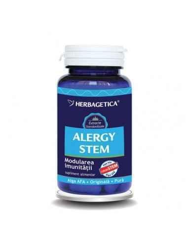 ALERGY STEM 30 cps Herbagetica, ALERGY STEM 30 cps Herbagetica Stimulează producția de Celule Stem adulte, modulează reacția sis