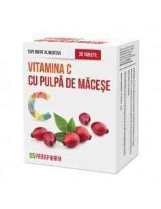 Vitamina C pulpa de macese 30cps Parapharm