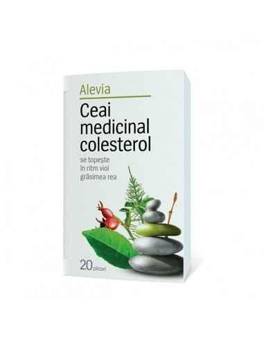 Ceai medicinal colesterol 20dz - Alevia Are un efect imediat revigorant, conferind organismului o stare de bine.