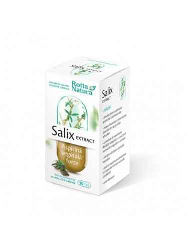 Salix - aspirina vegetala forte 30 cps - Rotta Natura, Salix - aspirina vegetala forte 30 cps - Rotta Natura Salix Extract mai e