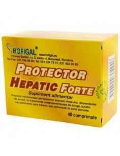 Protector hepatic forte 40 cpr - Hofigal