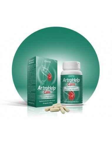 Artrohelp calm 28 cps - Zenyth Cu ingrediente de ultimă generație, optim dozate, ArtroHelp Forte hrănește articulațiile și acțio