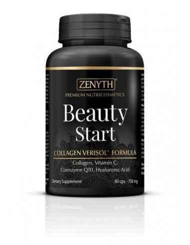 Beauty Start 80cps - Zenyth Beauty Start este un supliment alimentar nutricosmetic pentru îngrijirea pielii, părului și unghiilo