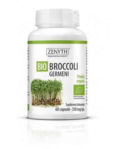 Broccoli germeni 350mg 60 cps - Zenyth O sursă complexă de enzime și antioxidanți pentru sănătatea ta. Bio Broccoli Germeni este