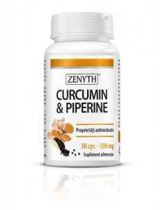 Curcumin & piperine 30cps - Zenyth