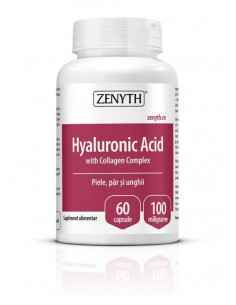 Hyaluronic Acid With Collagen Complex 60cps - Zenyth