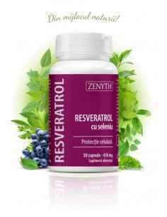 Resveratrol cu Seleniu 30 cps - Zenyth