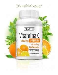 Vitamina C 60cps cu Citrice - Zenyth