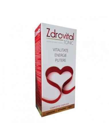 Zdrovital Tonic 500ml - Zdrovit Plus de Energie, vitalitate și putere. Zdrovital TONIC este un supliment alimentar, cu îndulcit