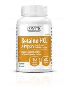 Betain HCI & Pepsin 60cps - Zenyth