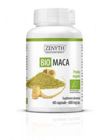 Bio Maca 60cps - Zenyth Tonic, afrodisiac, energizant. Un produs pentru susținerea sănătății sexuale. Bio Maca este un supliment