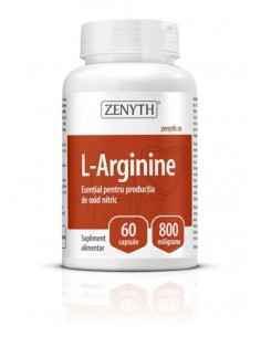 L-Arginine 60cps - Zenyth