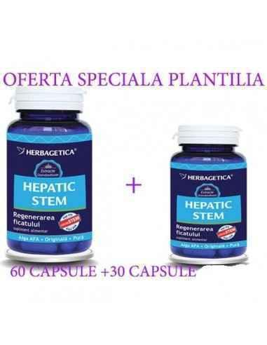 Hepatic Stem 60+30 capsule CADOU Herbagetica