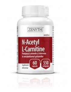 N-Acetyl L-Carnitine 60cps - Zenyth