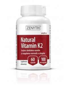 Natural Vitamin K2 60cps - Zenyth