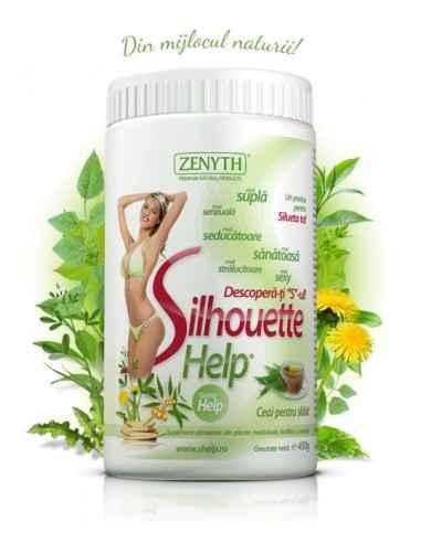 SilhouetteHelp 225 g - Zenyth Puterea plantelor dublată de puterea inozitolului. Cu ceaiul SilhouetteHelp vei slăbi sănătos, făr