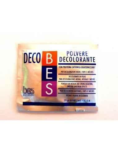 PUDRA DECOBES PLIC 25GR - Bes Romania Pudra normala este un praf decolorant ce contine o proteina compensatorie, hidratanta , pr