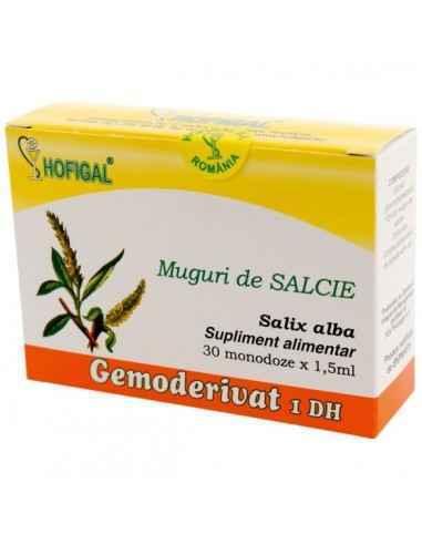 GEMODERIVAT MUGURI SALCIE 30MONODOZE - Hofigal Actiune benefica asupra sistemului nervos central, hematopoiezei.