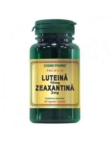 Luteina 10mg Zeaxantina 2mg 60cps Cosmo Pharm Premium, Luteina 10mg Zeaxantina 2mg 60cps Cosmo Pharm Premium Luteina si zeaxanti