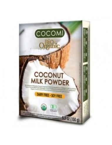 COCOMI LAPTE PRAF DE COCOS (BIO) 150GR - My Bio Natur Un produs fara gluten, fara colesterol. Potrivit pentru vegani.