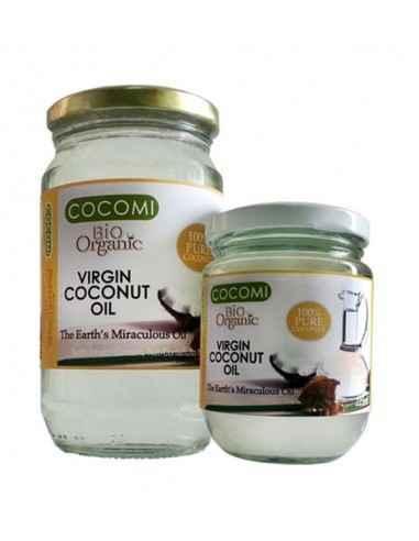 COCOMI ULEI COCOS VIRGIN 500ML (BIO) - My Bio Natur Este un ulei nutritiv dar si un ulei ideal pentru alimentatie. Este stabil t