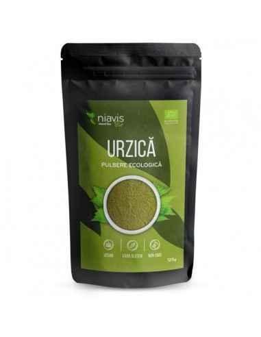"""URZICA PULBERE ECOLOGICA(BIO) 125GR - Niavis Urzica este considerata o adevarata """"farmacie naturala"""", in frunzele, semintele si"""